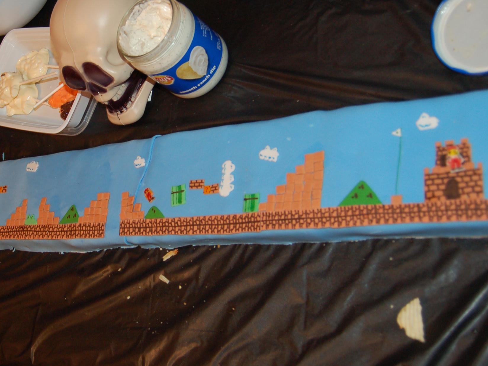 Playable Super MarioCake