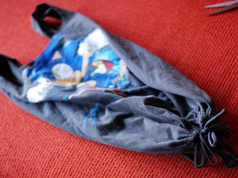 New Project: No-Sew T-Shirt Bag