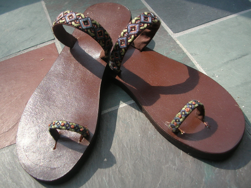 New Project: Weekend Boho Sandals