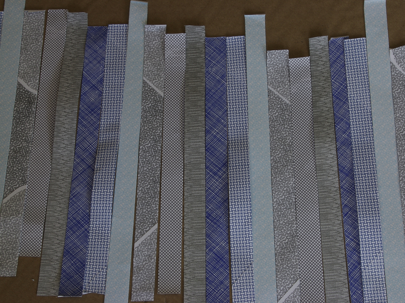 New Project: Woven Trash Gift Wrap