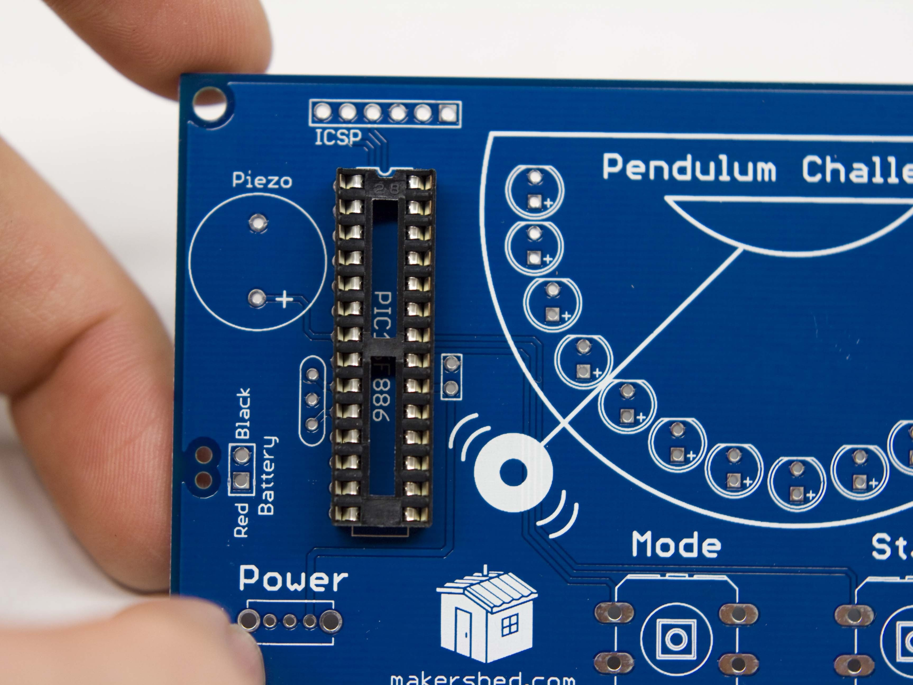 Pendulum Challenge Build