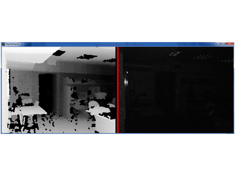 Using a Kinect as an Infrared Camera
