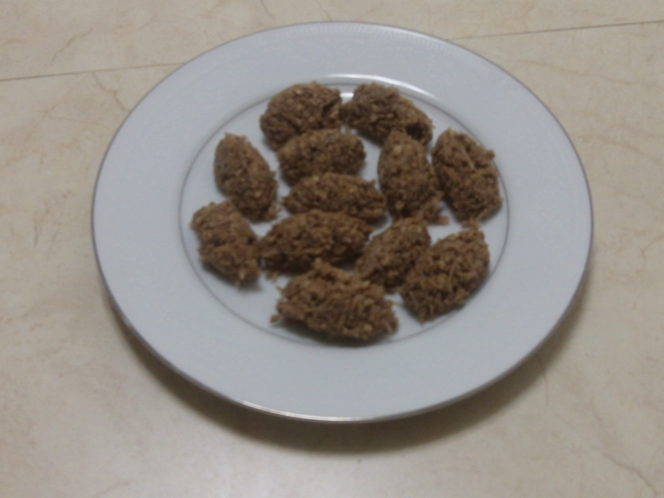 New Project: Cocoa-Coconut No-Bake Cookies