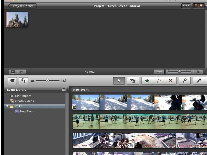 Green Screen w/iMovie