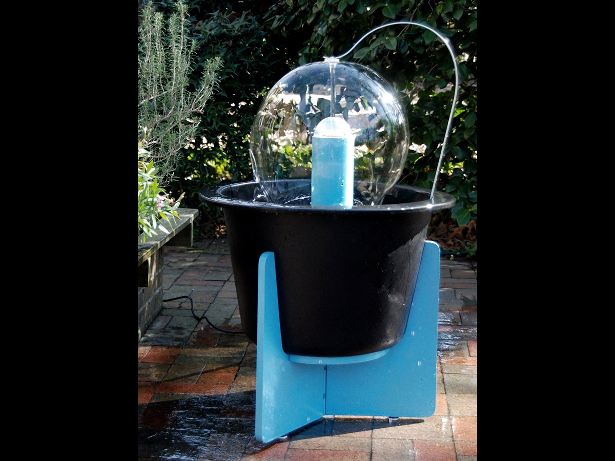 Laminar Flow Water Fountain