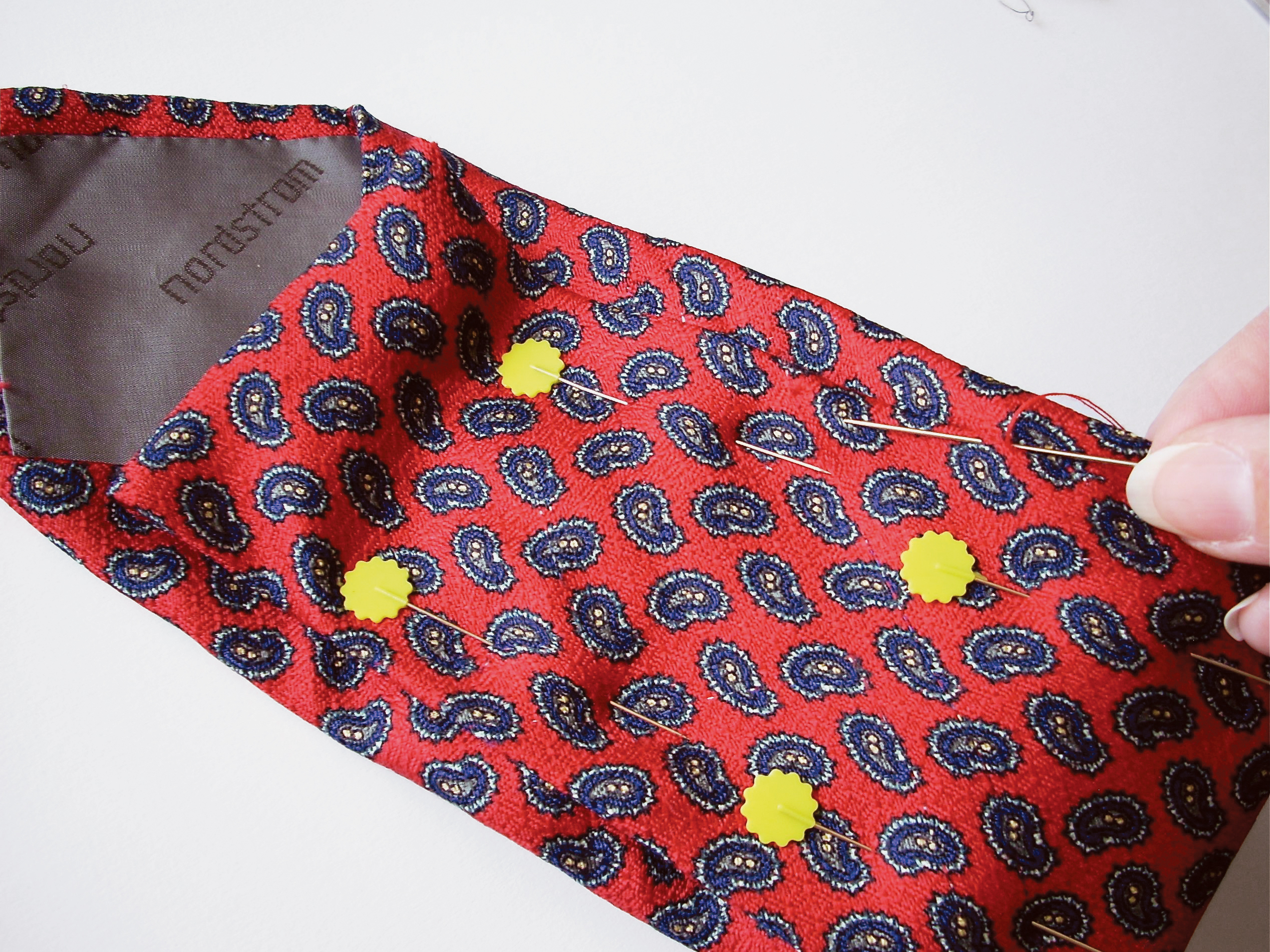 Necktie Glasses Case