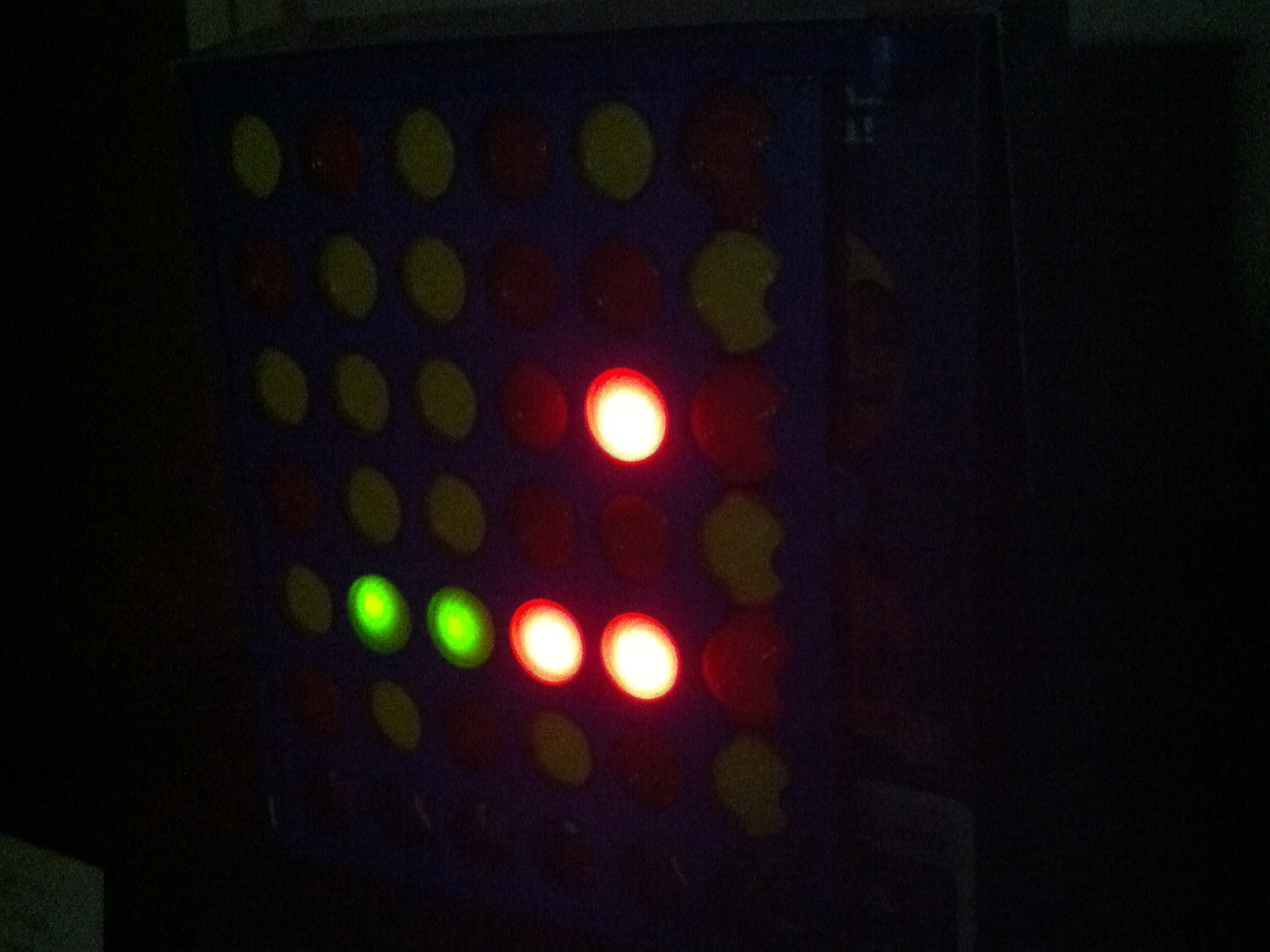 New Project: Connect 4 BinaryClock
