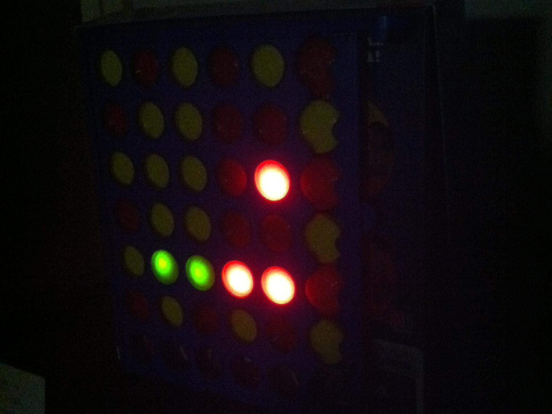 Connect 4 BinaryClock