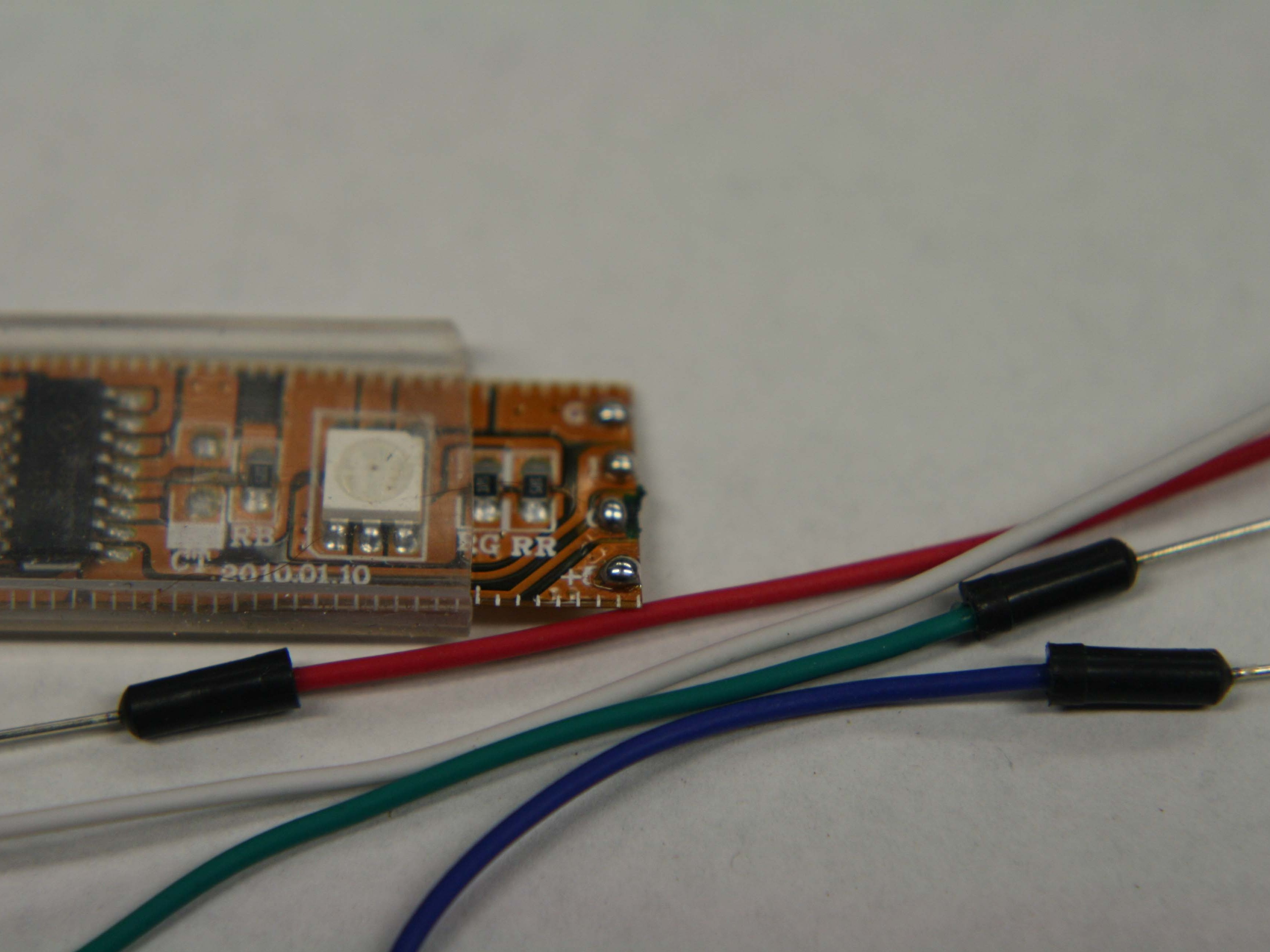 Solder a Digitally Addressable RGB LEDStrip