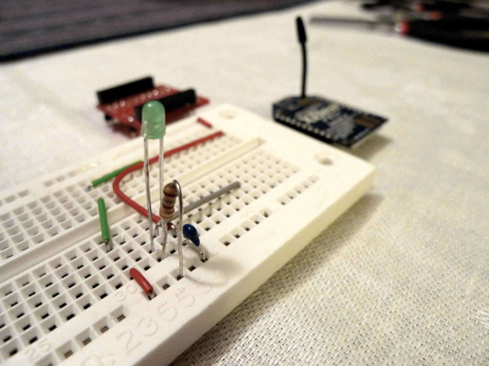XBee Pulse I/O Breadboard or Perfboard Assembly Instructions