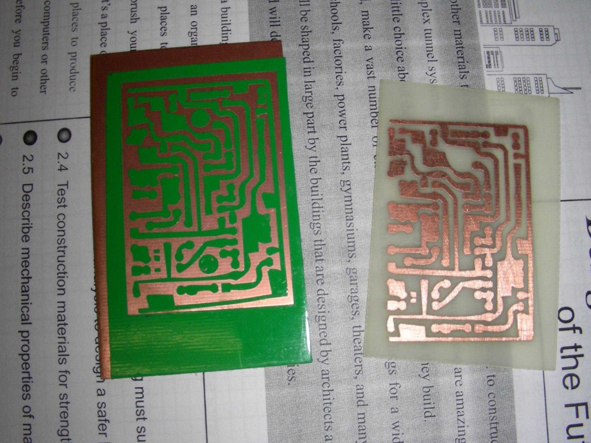 Vinyl Cut PCBResist