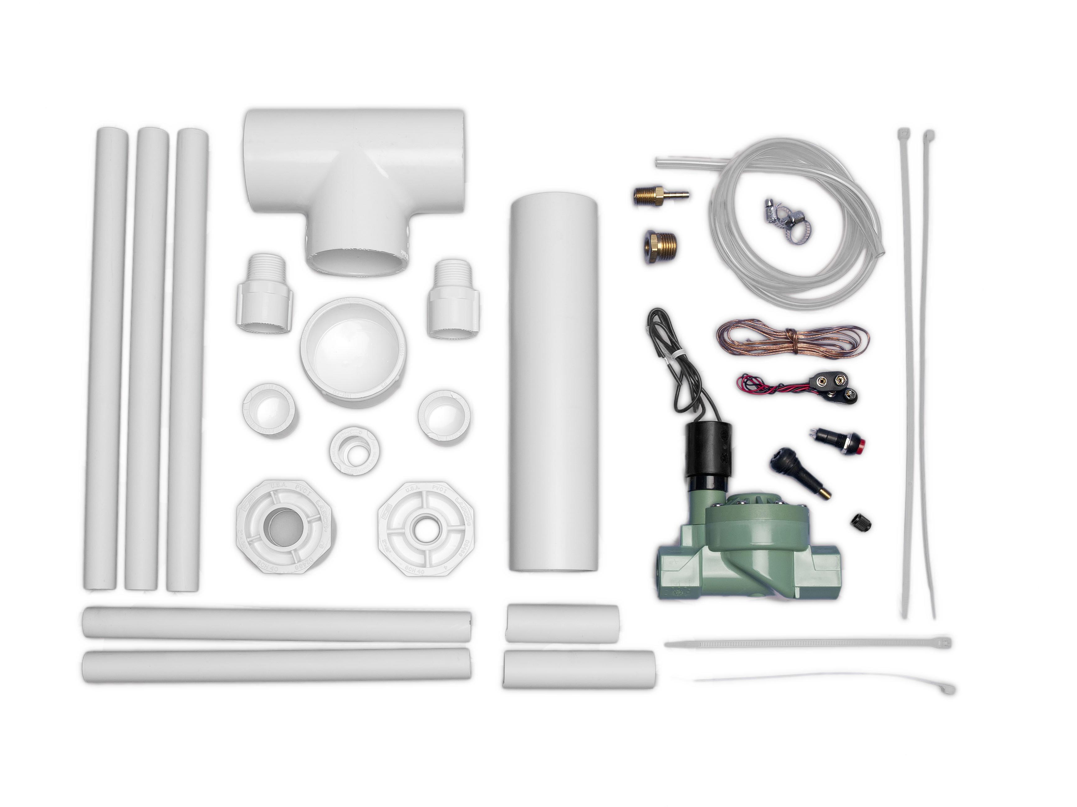 Make: Compressed Air RocketsKit