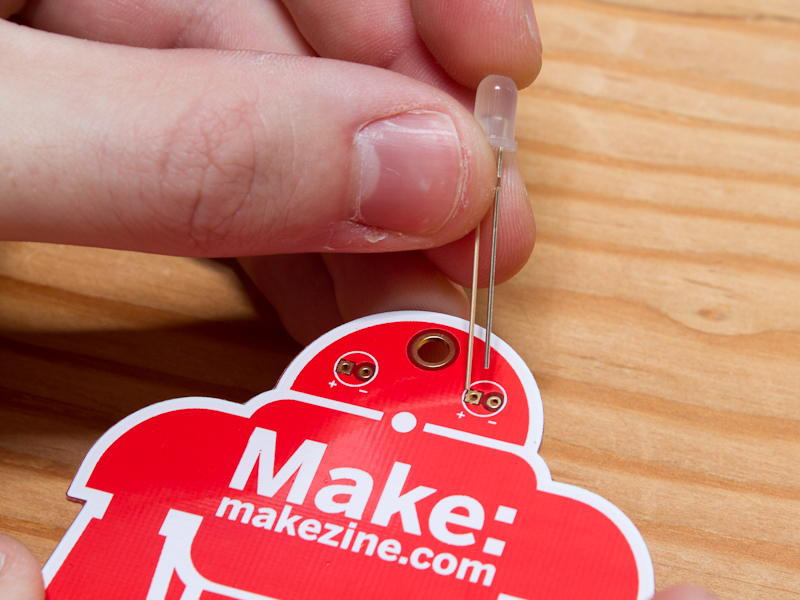 New Project: MAKE Holiday Ornament