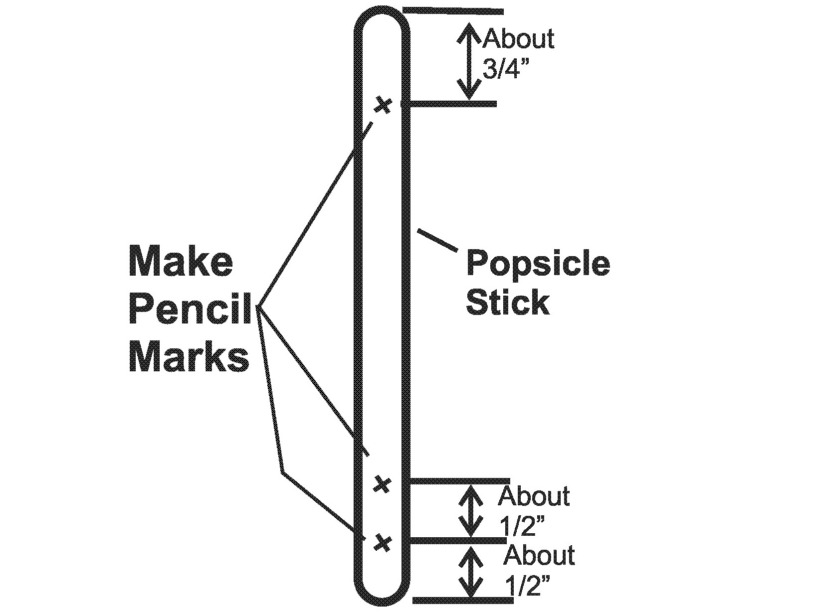 Popsicle Stick Switch