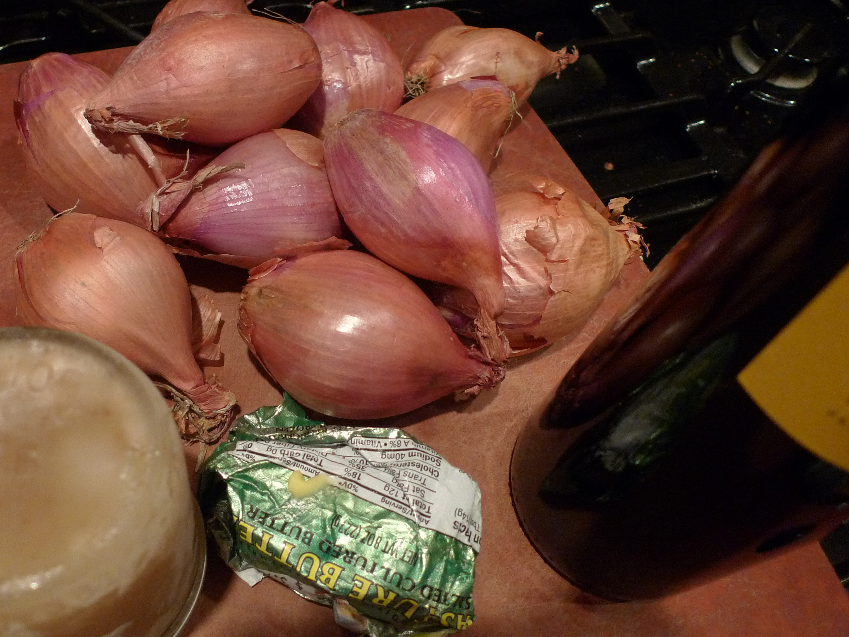 Shallots in RedWine