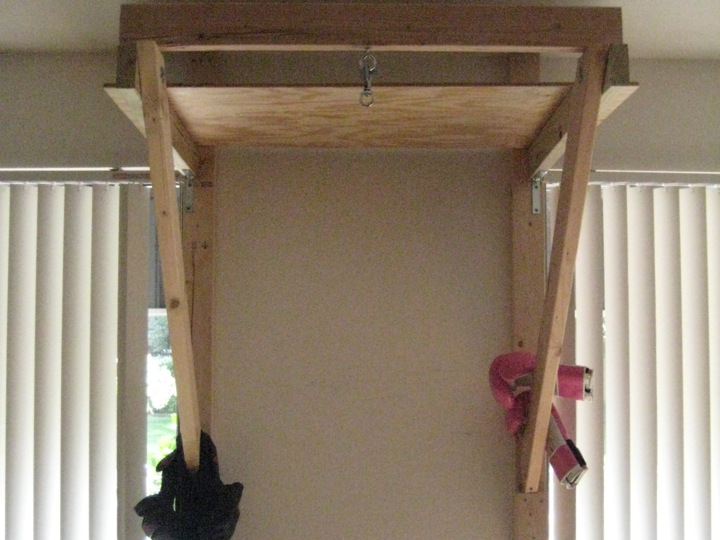 6ft tall Punching Bag Stand in SmallSpace