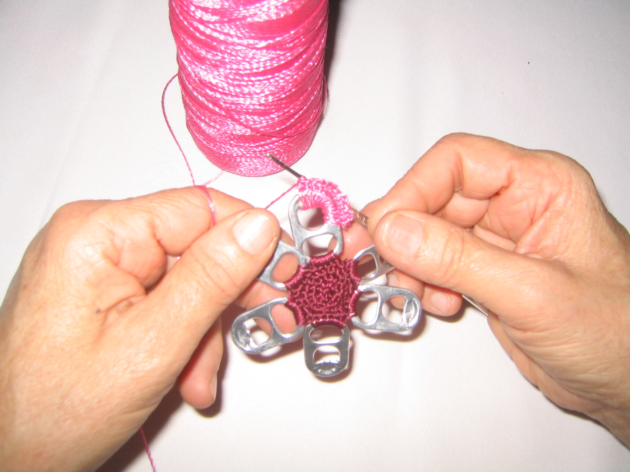 New Project: Pull-TabCrochet