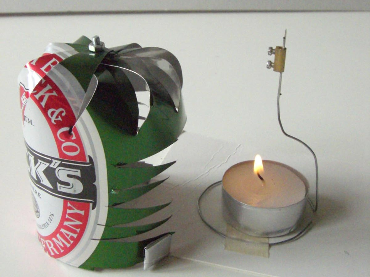 Random Candle Screen