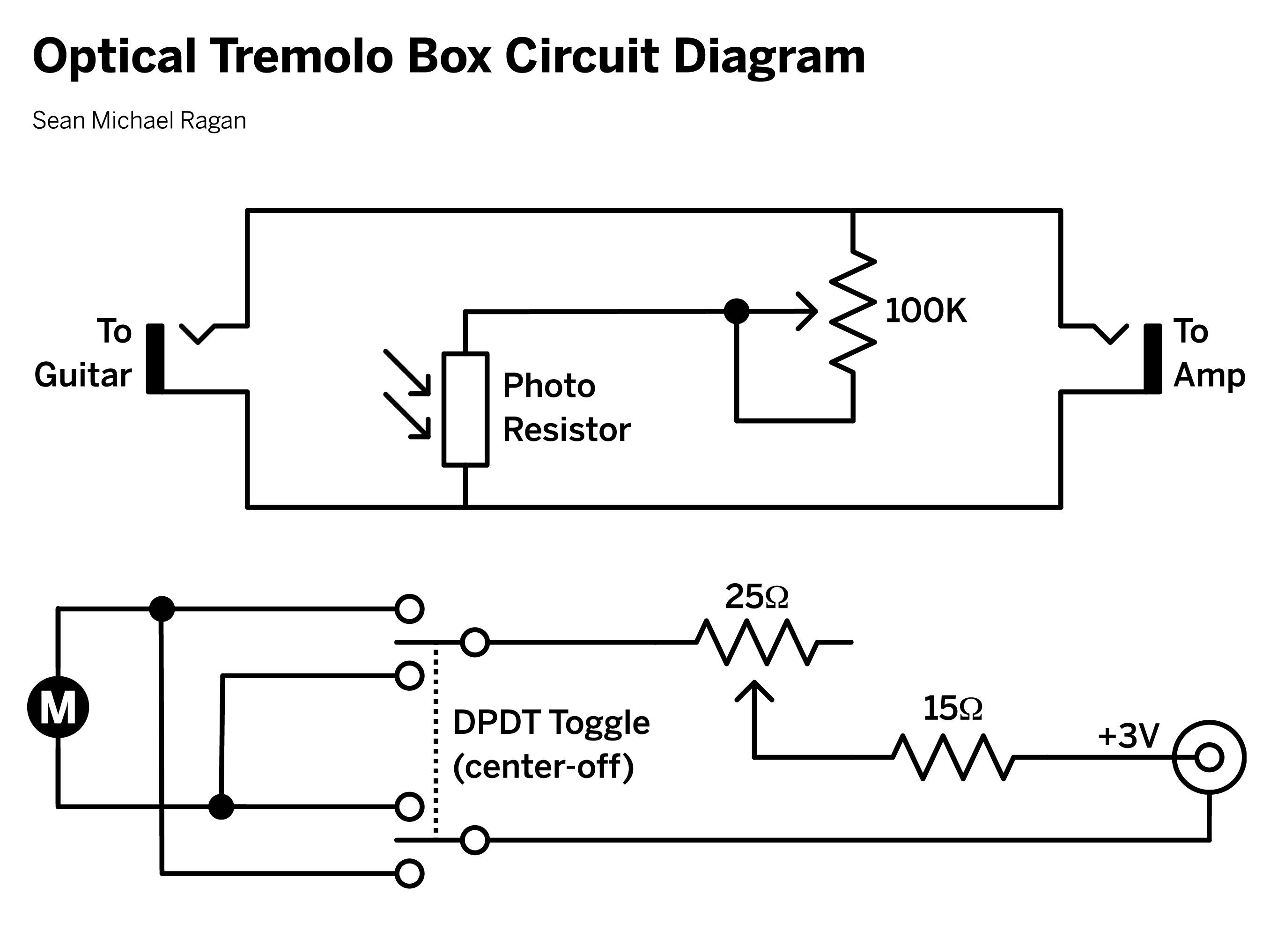 Optical Tremolo Box