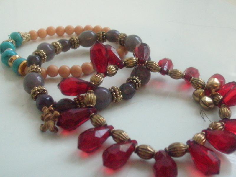 Stacked Beaded Bracelets