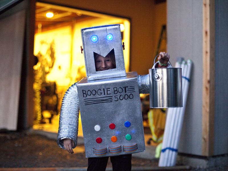 New Project: Robot HalloweenCostume