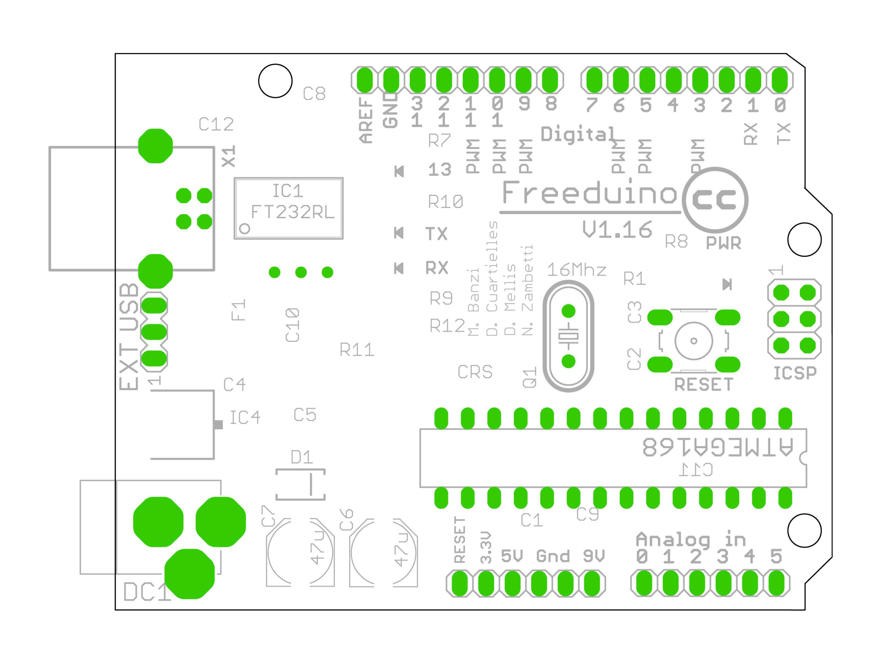 Introductory Circuit Design Process usingFreeduino