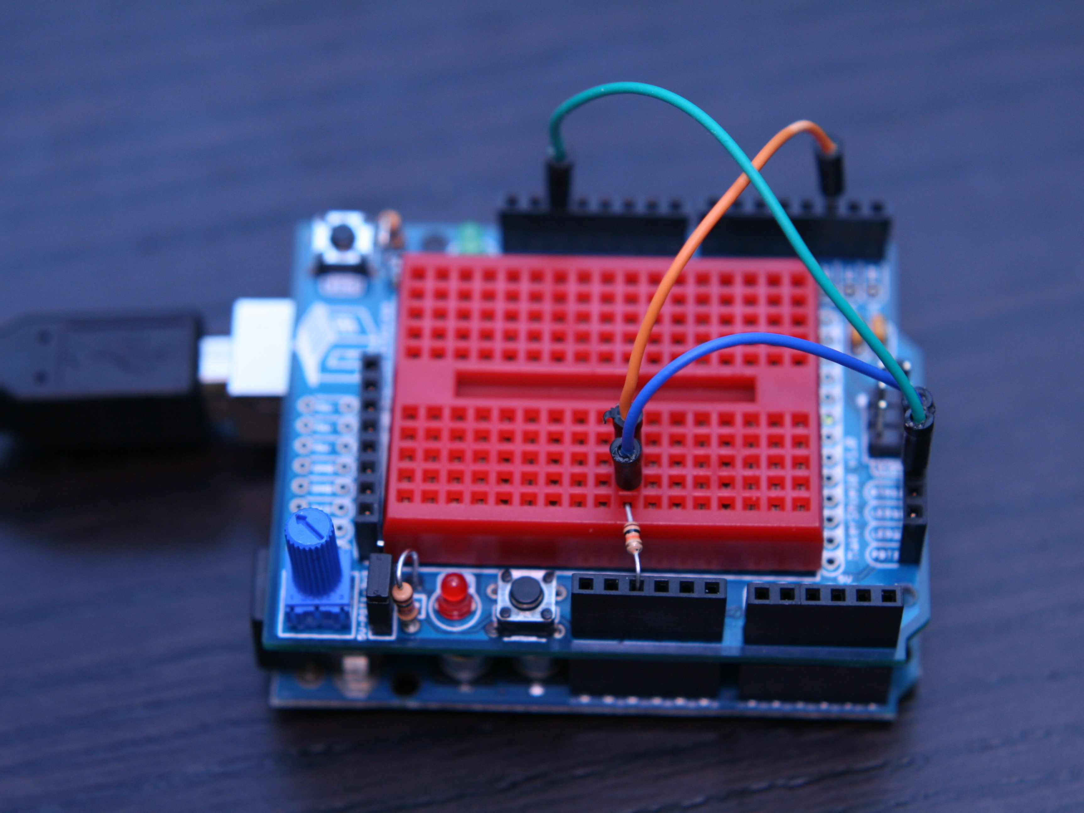 Using the MakerShield –Button