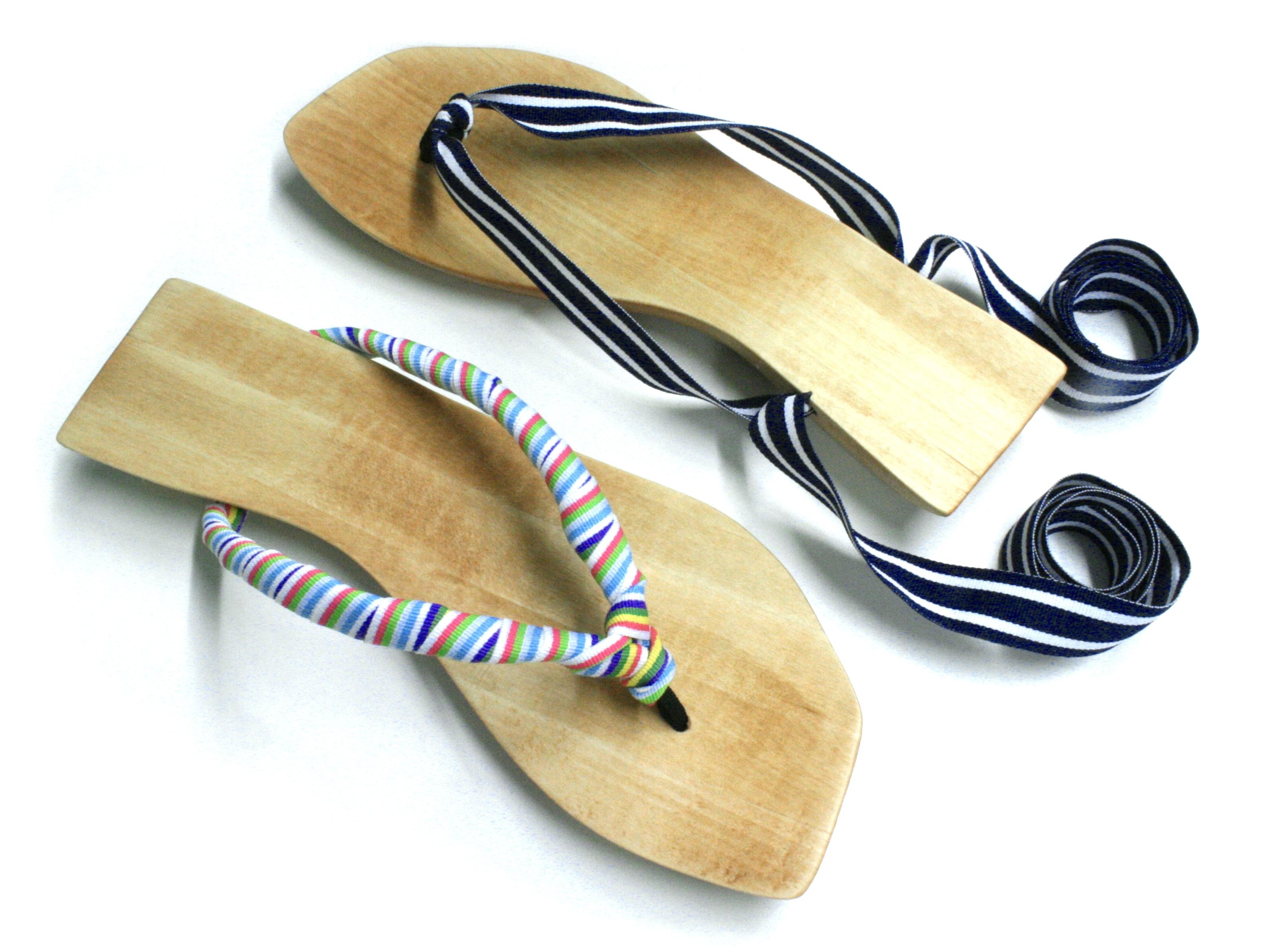 Ribbon-Tie Sandals
