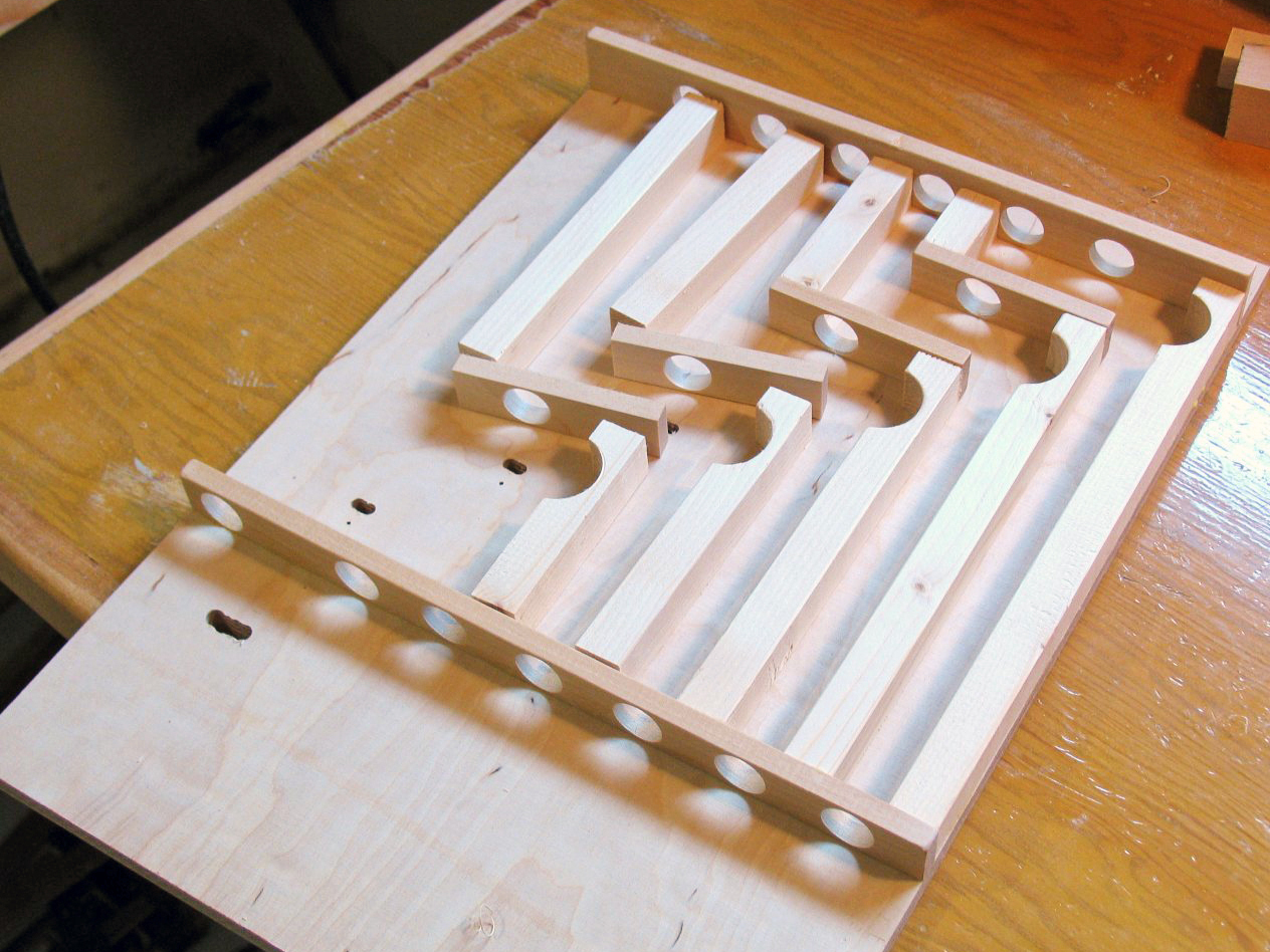 Marble Adding Machine