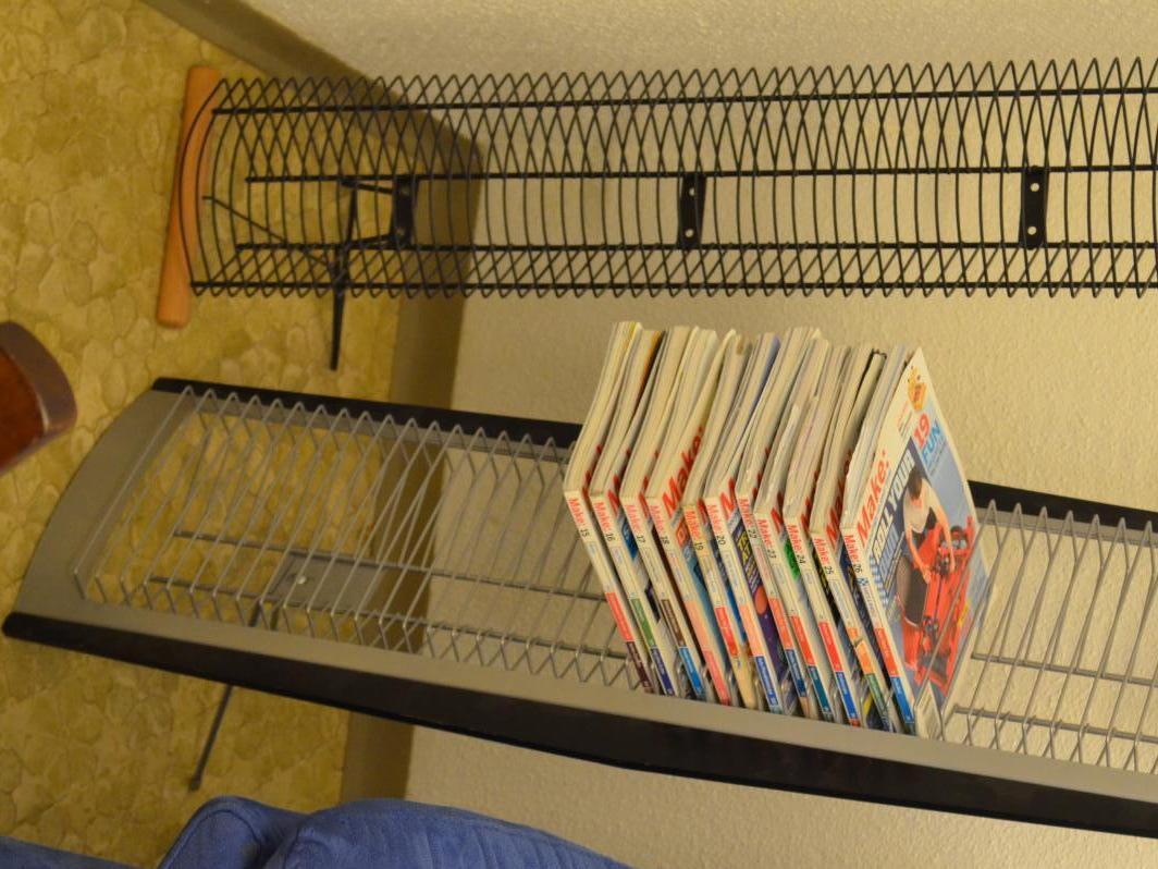 Display/Shelf for MakeMagazines