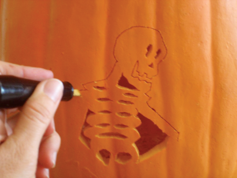 Stencil Carving