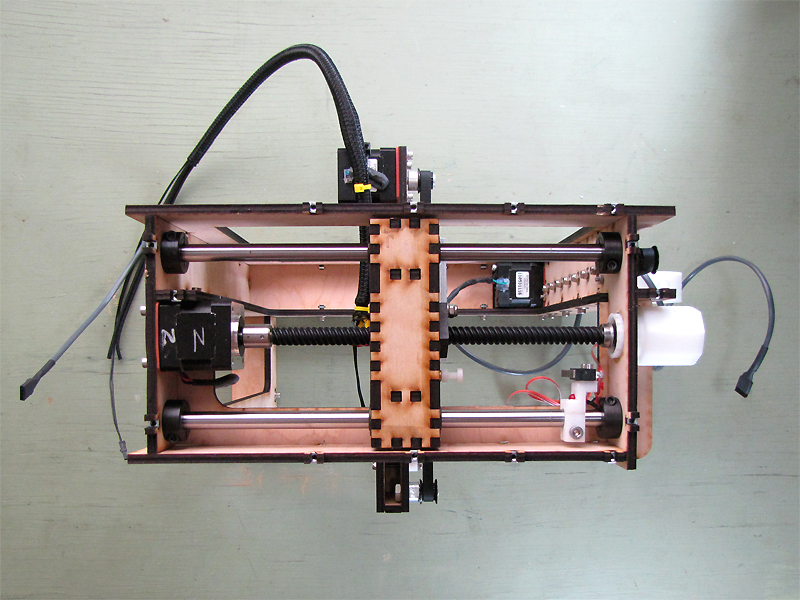 New Project: The MakerGear Mosaic 3D Printer – Part IV: TheZ-Axis