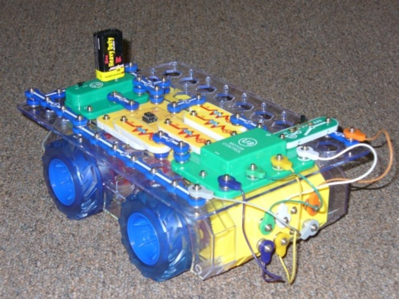 New Project: Simple Snap Circuits Programmable Robot