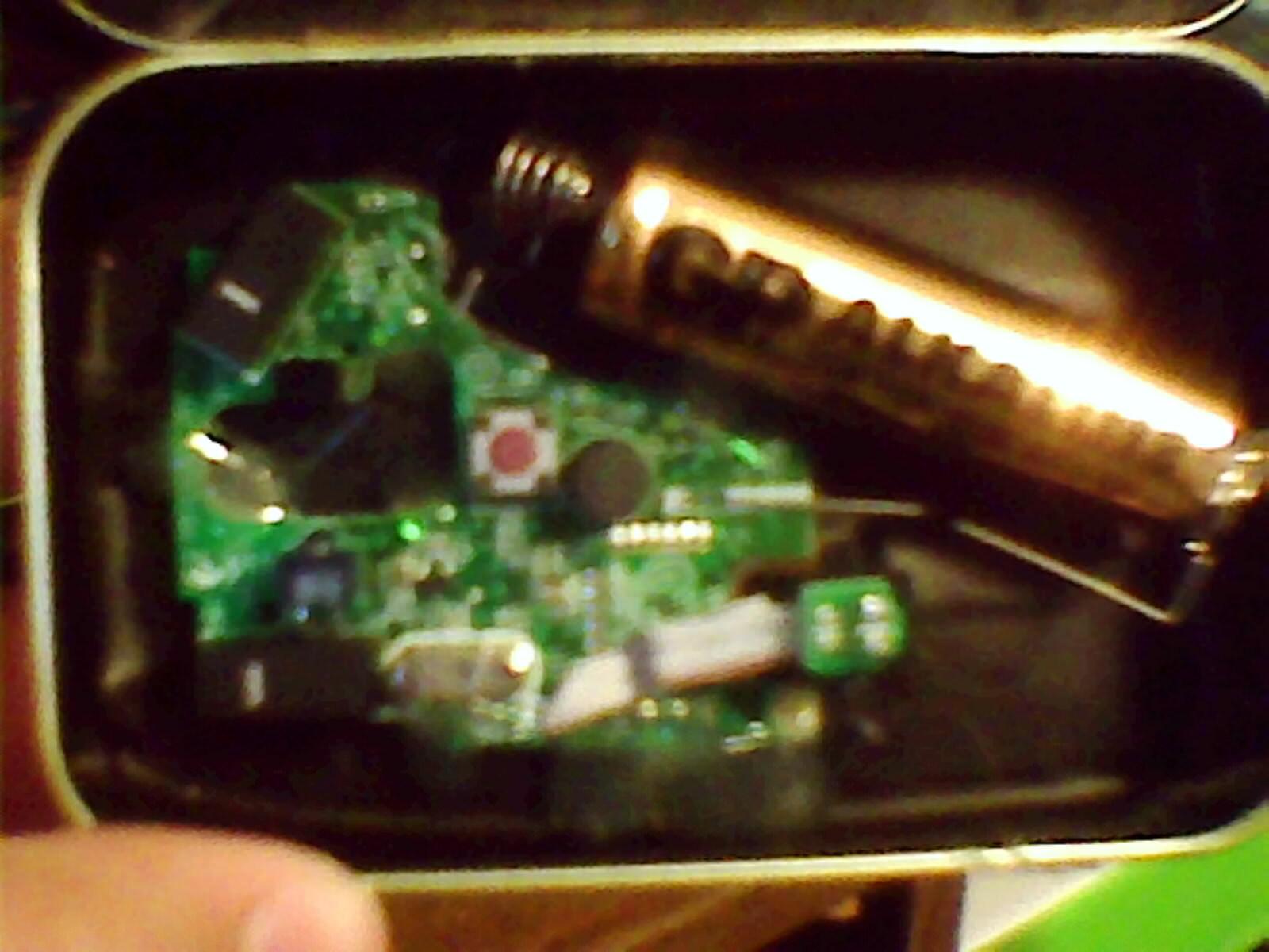 Wireless Altoids Tin Mouse (aka MintyMouse)