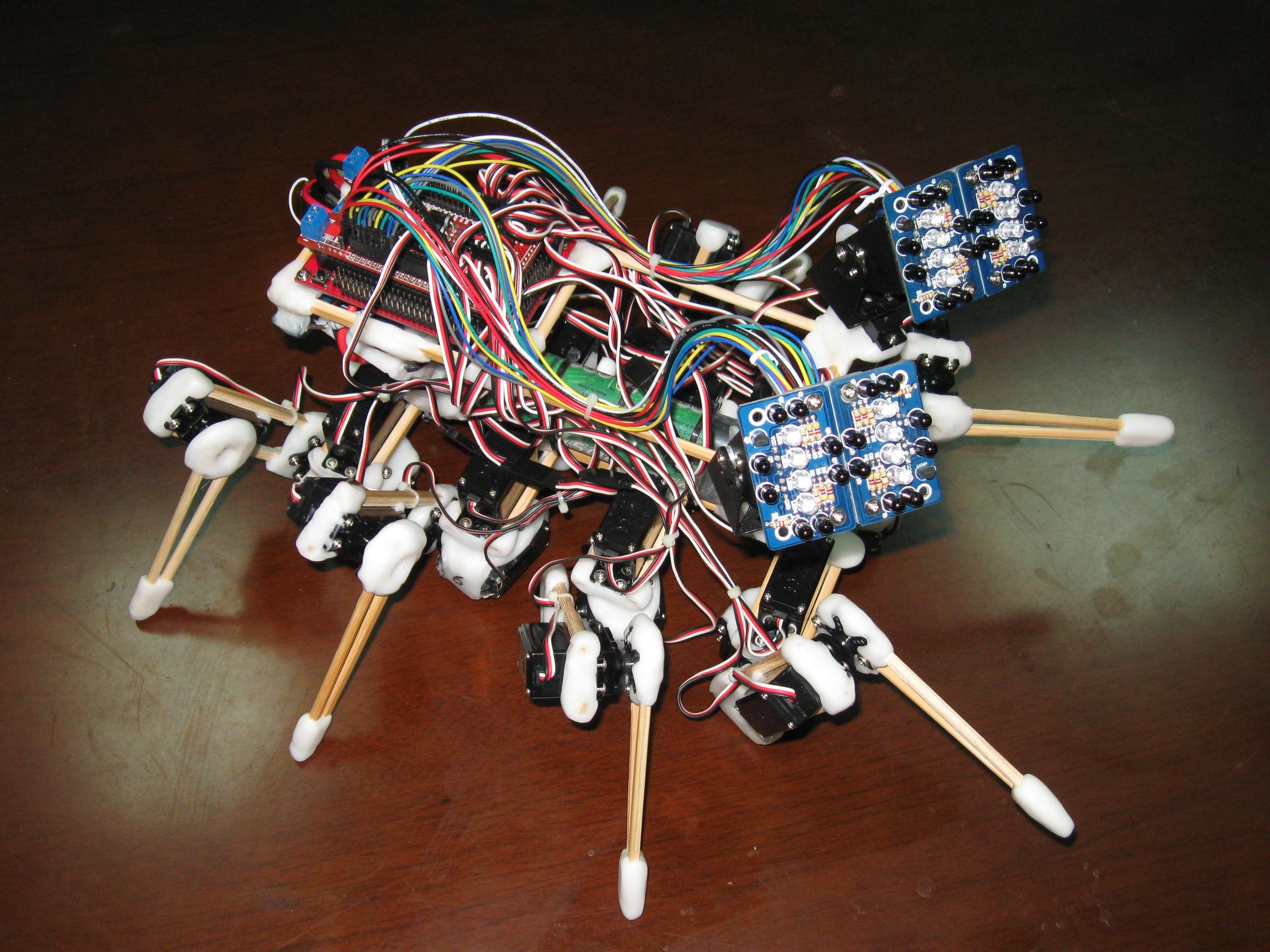 """""""Chopsticks"""" the SpiderRobot"""