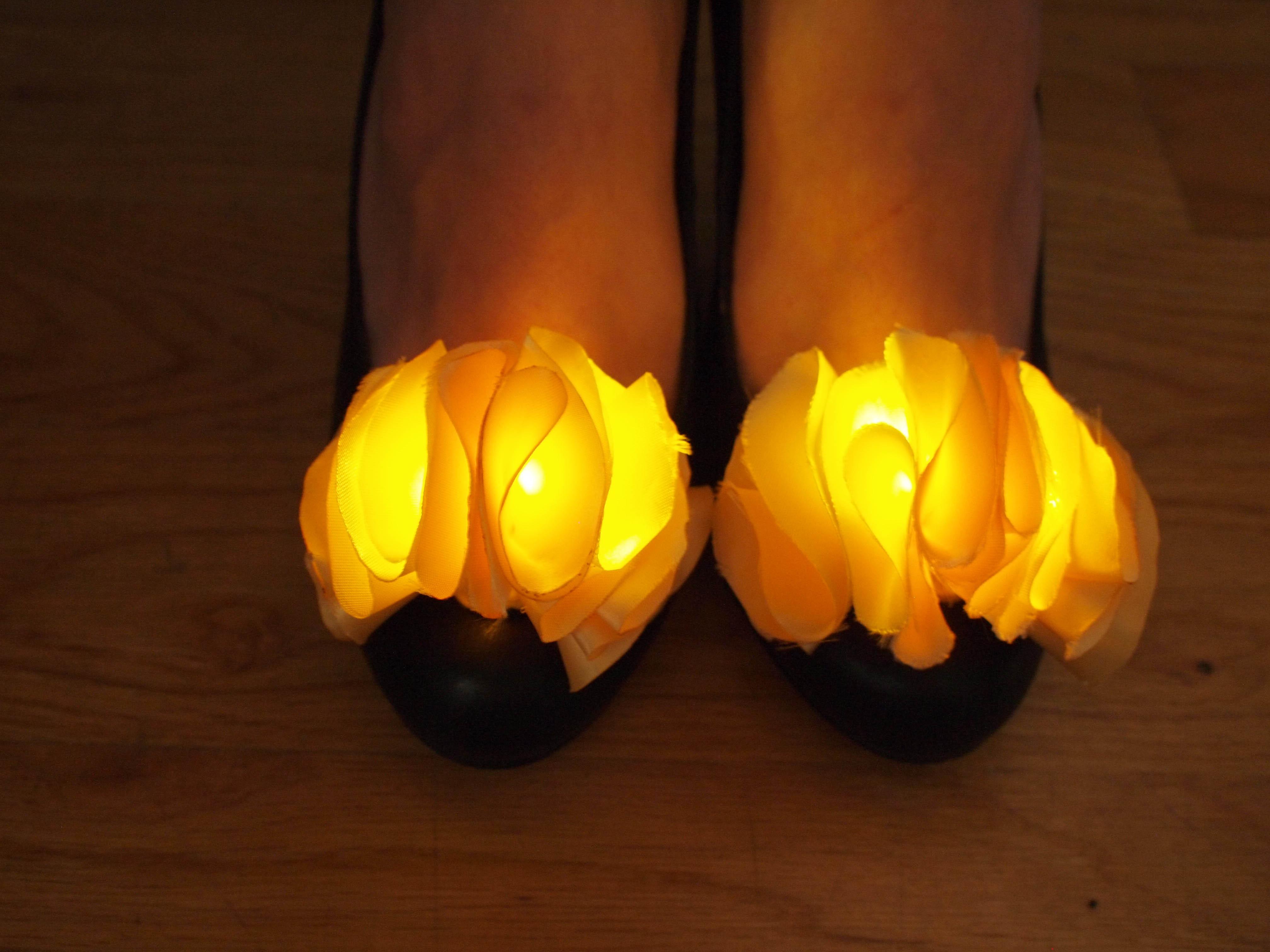 LED Shoe Clips
