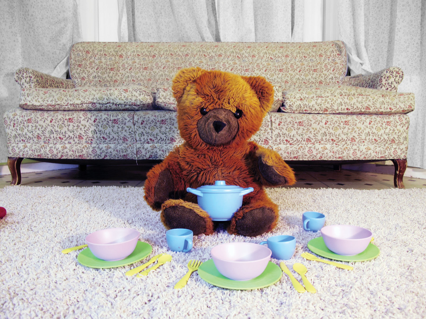 Charlie's RFID TeddyBear