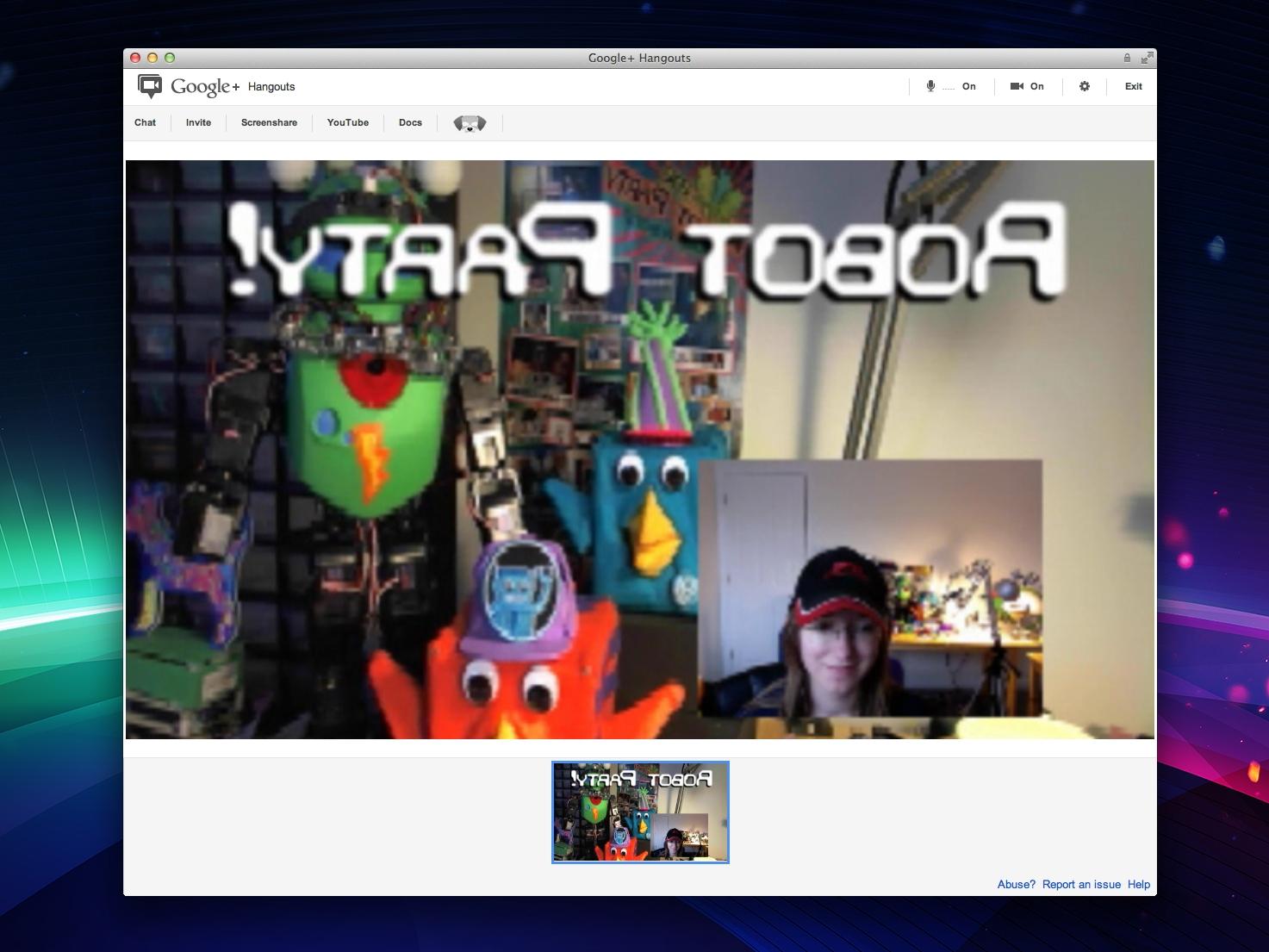 Google+ Hangout &Stream
