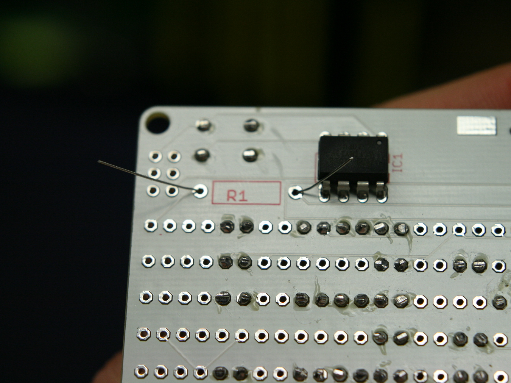 """LED """"Hello! My Name Is"""" Name TagKit"""