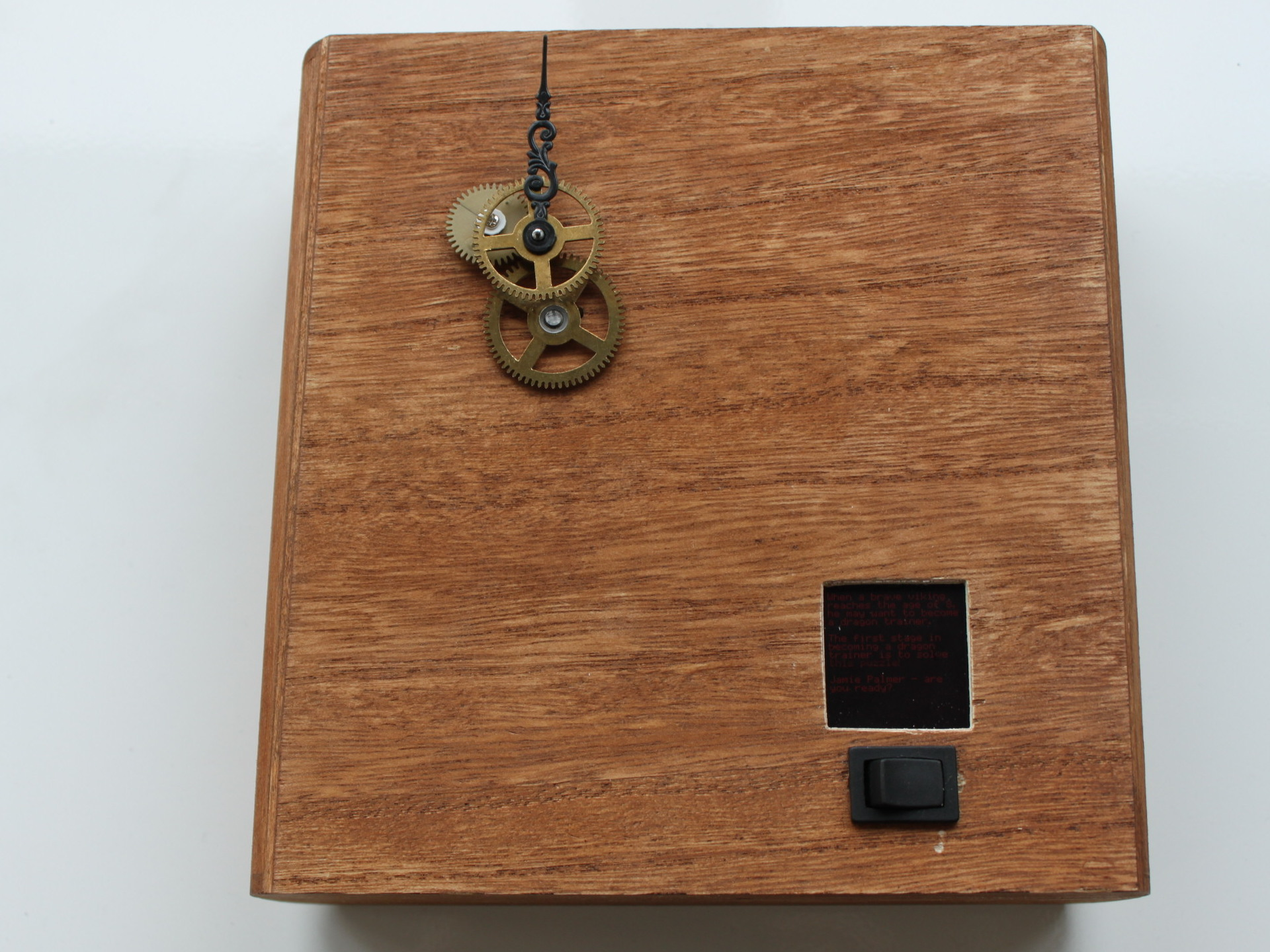 GPS puzzle box