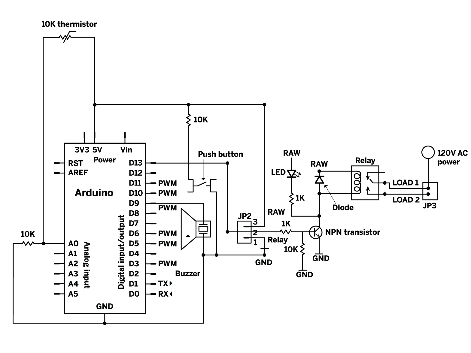 arduino wiring diagram creator  arduino  free engine image