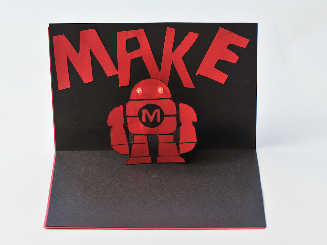 LED Pop-up Cards