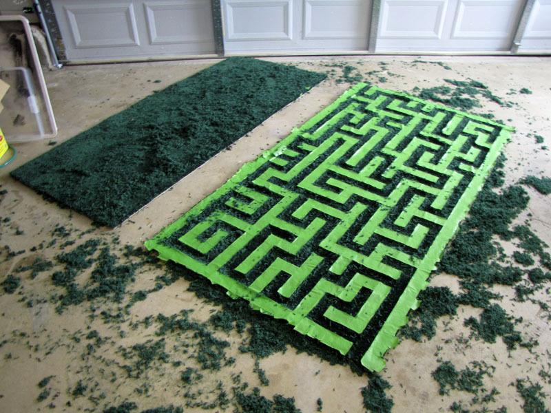 Hedge Maze AreaRug