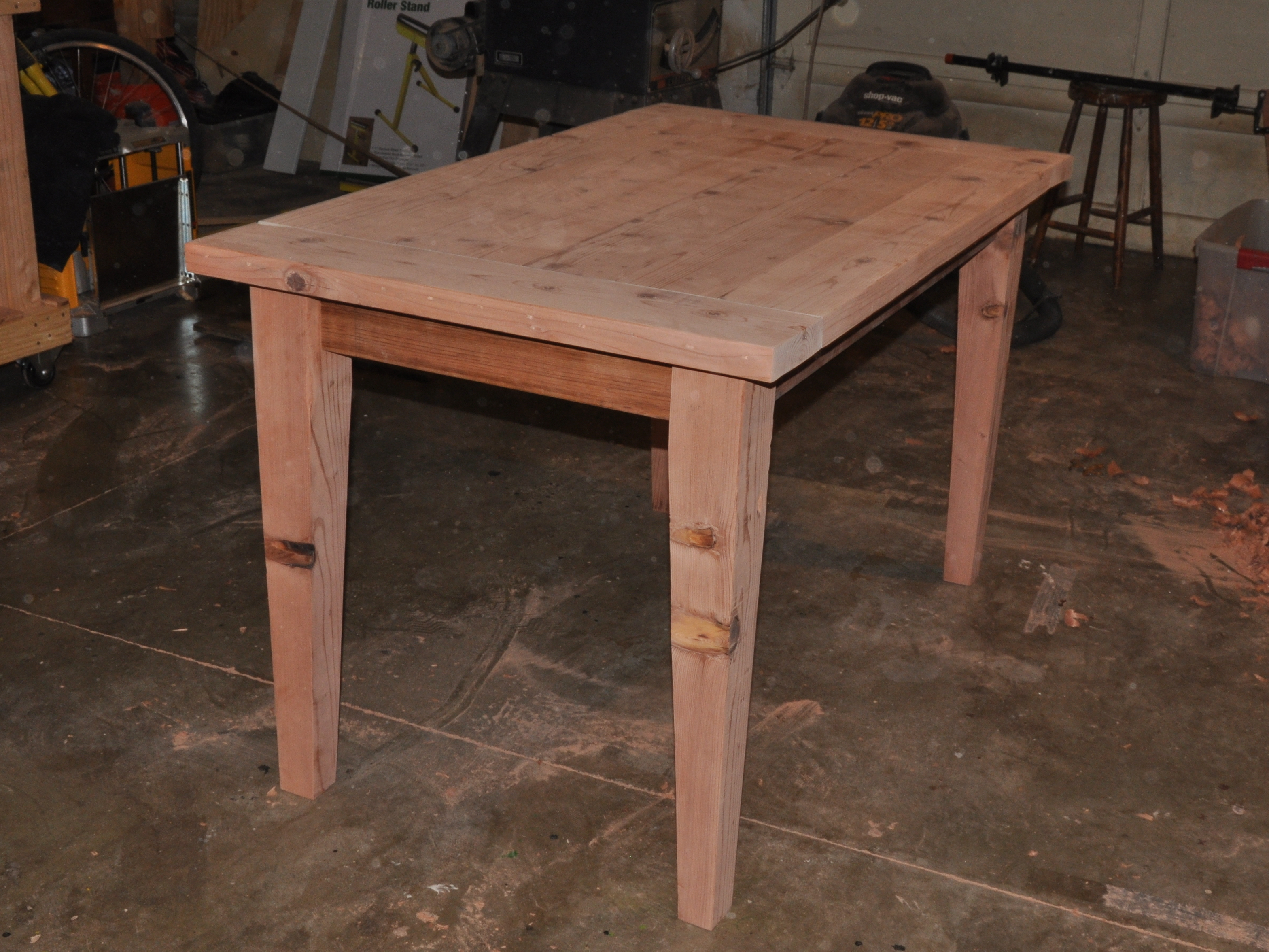 New Project: Wooden Table