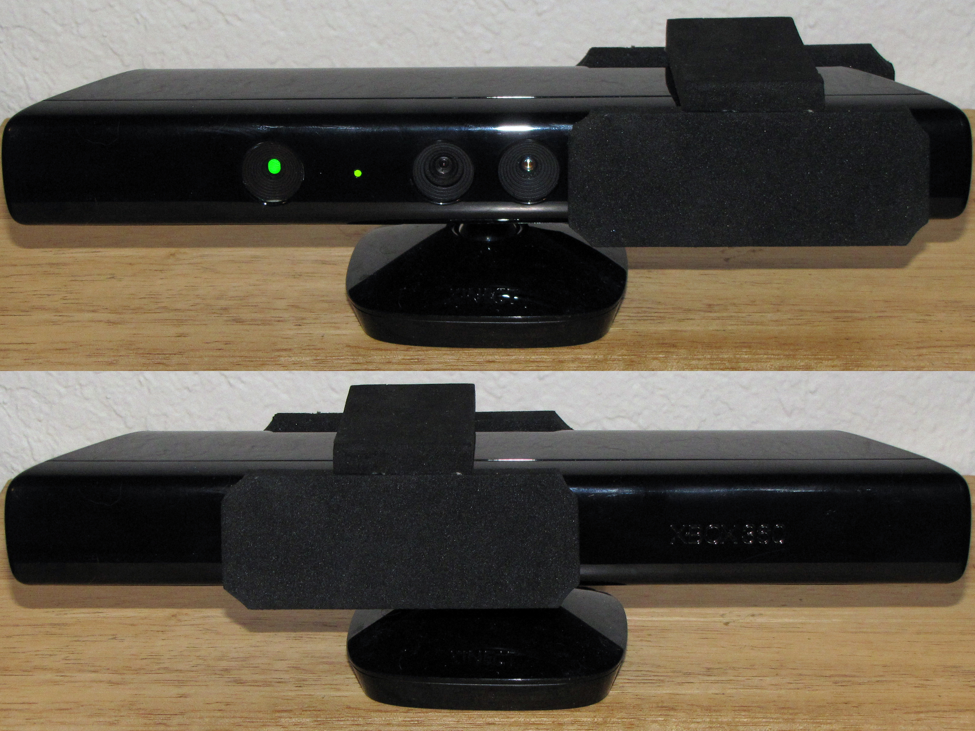Kinect Privacy Guard from Kinect Package Material