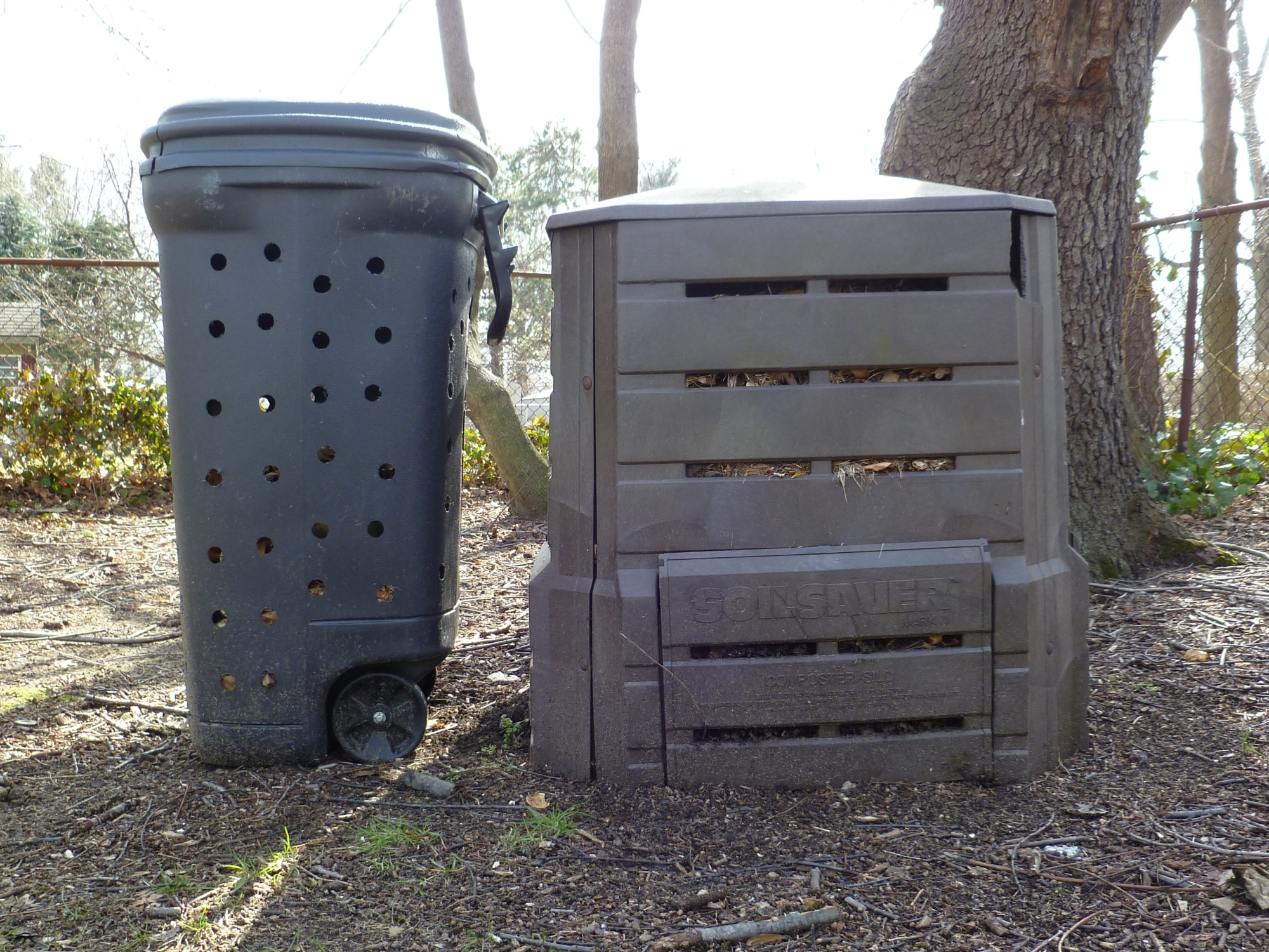 Trash Can Composter