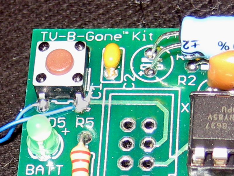 New Project: TV-B-GoneHat