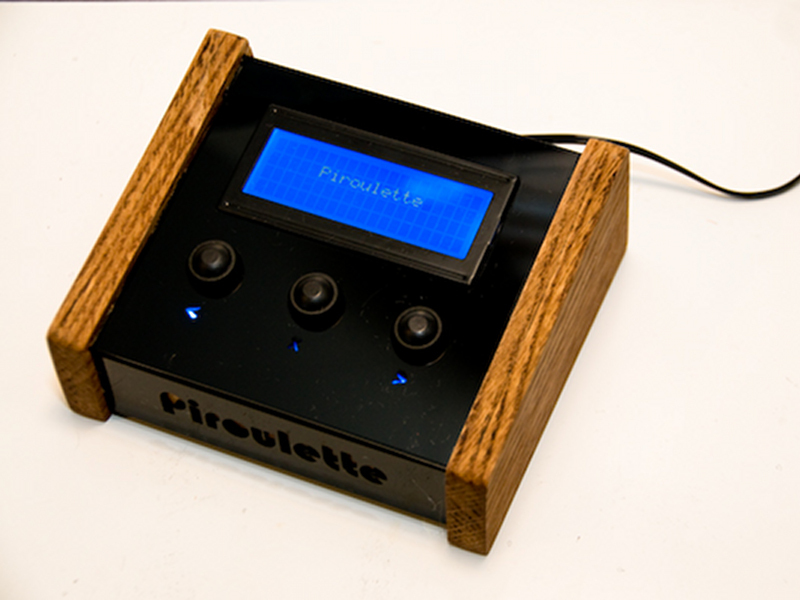 New Project: Piroulette: A Machine That Predicts Your LastWords