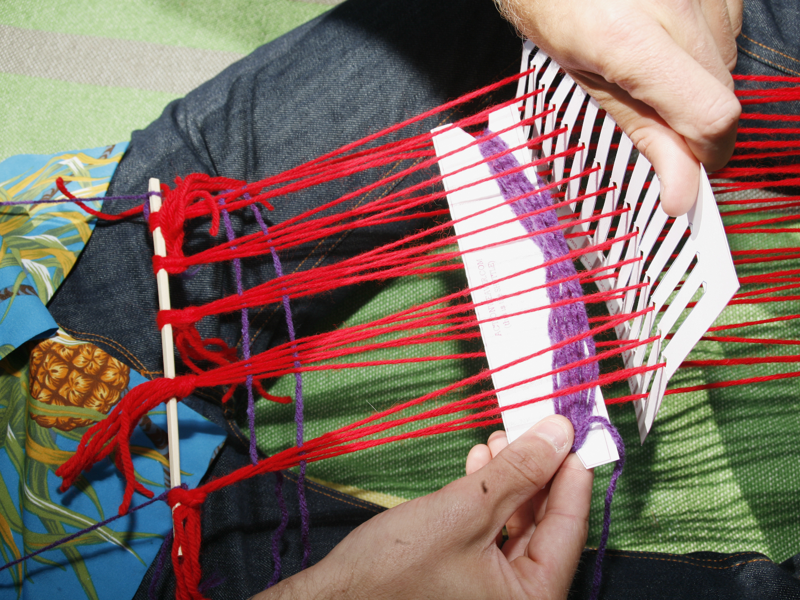 New Project: Paper Pocket Loom