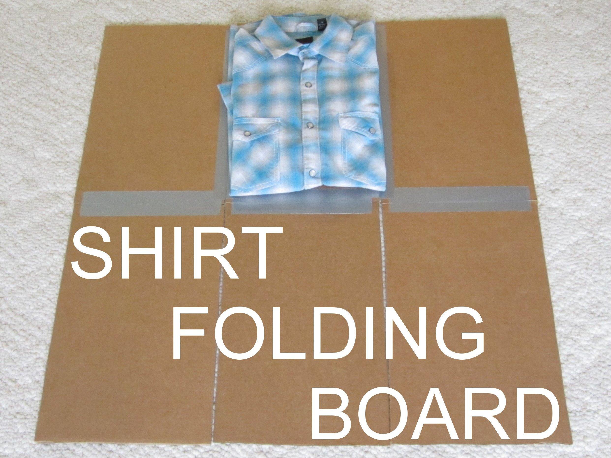 DIY Clothes-Folding Board